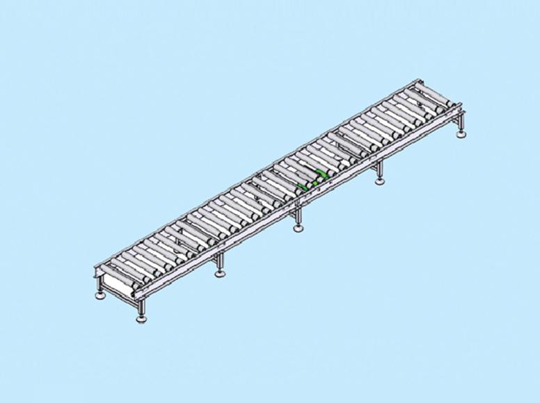 line shaft conveyor go
