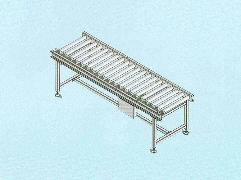 Single or double accumlative roller conveyor GJ