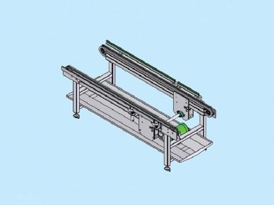 chain conveyor with roller GR