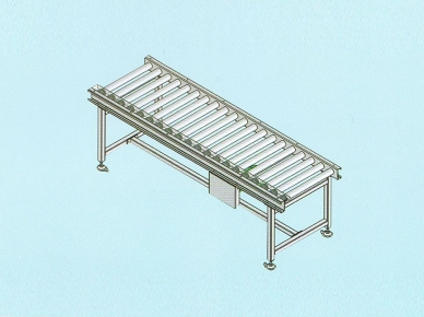 Single or double accumlative roller conveyor GJ
