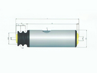 line shaft roller